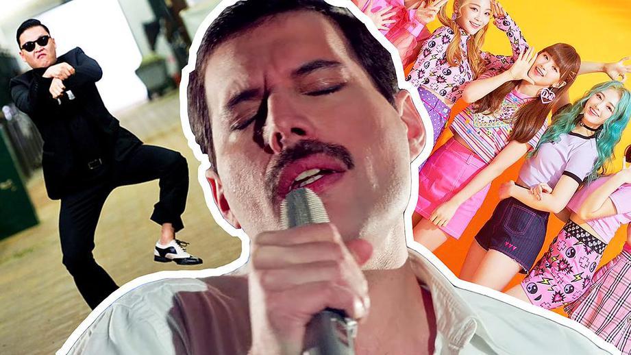 Более 1 млрд просмотров в YouTube набрал клип на песню «Богемская рапсодия» группы Queen
