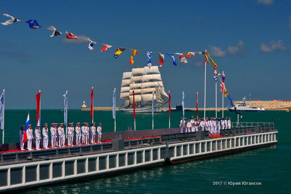 Поздравление главы Севастополя с Днем ВМФ