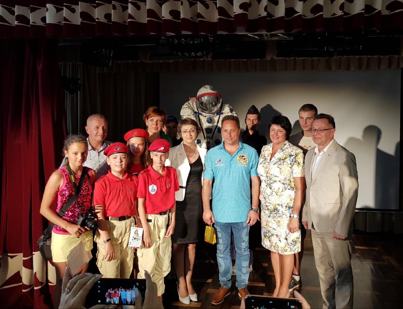 Севастопольский космонавт рассказал, как похудеть на 4 кг за несколько часов