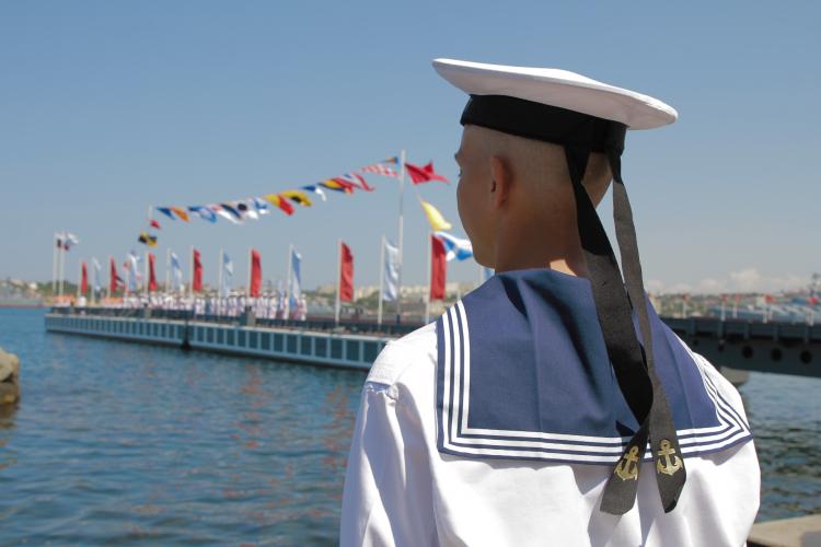 В Севастополе установят четырехметровую фотозону ко Дню ВМФ