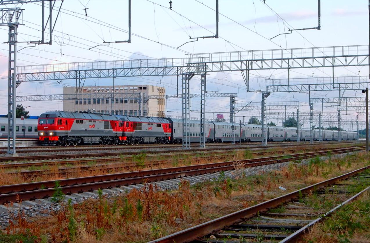 В Сети показали двухэтажные вагоны, которыми укомплектуют поезда в Крым