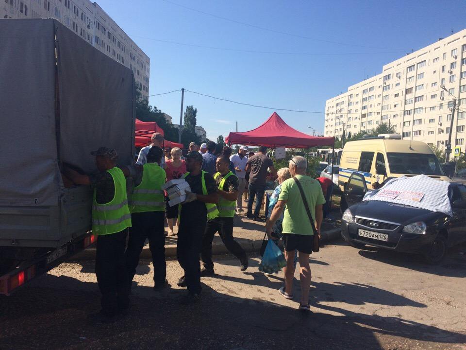 В Севастополе «разгон» стихийной торговли едва не закончился дракой
