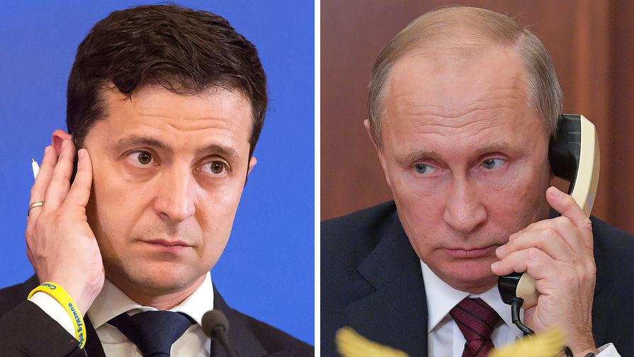 Стали известны подробности разговора Путина и Зеленского