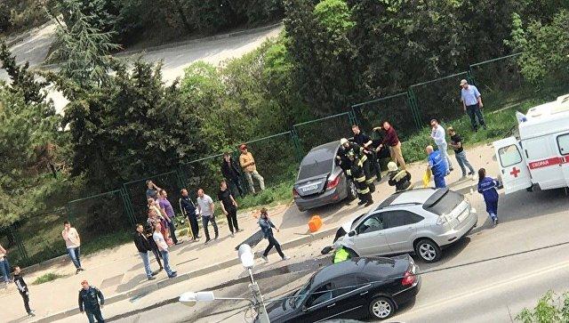 На западе Крыма в ДТП пострадал ребенок