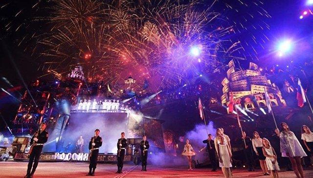 В первый день байк-шоу посетили более 50 тысяч зрителей