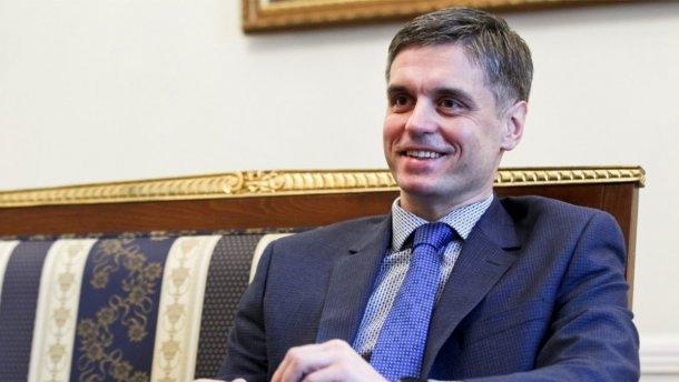 Новый глава МИД Украины назвал приоритетом возвращение Крыма