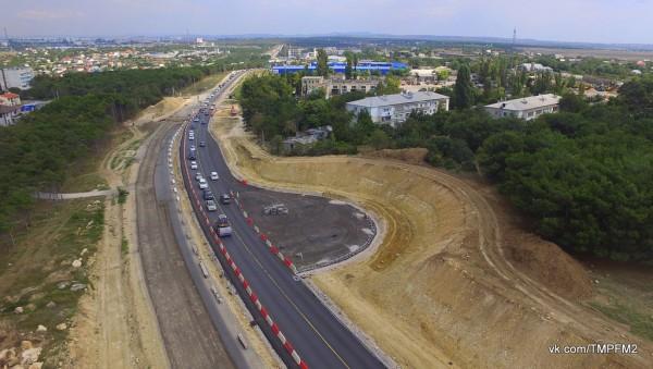 Реконструкцию Камышового шоссе в Севастополе обещают завершить в середине 2020 года