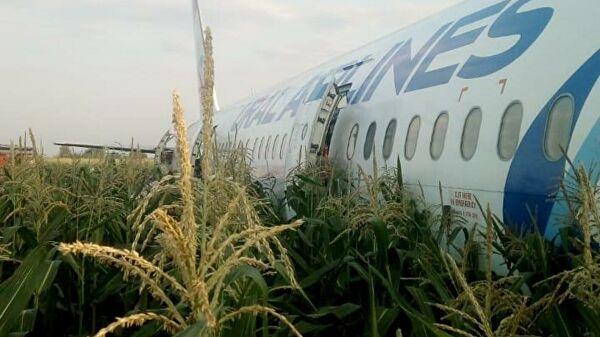 Число госпитализированных при аварийной посадке А-321 достигло 23
