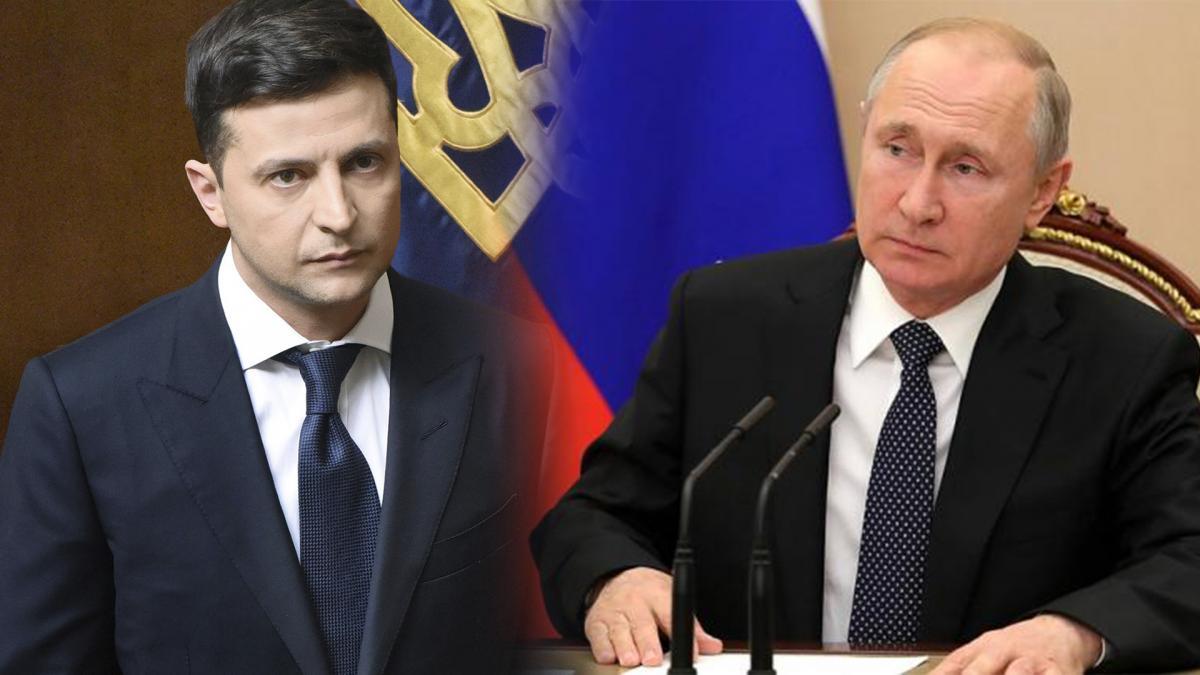Путина и Зеленского
