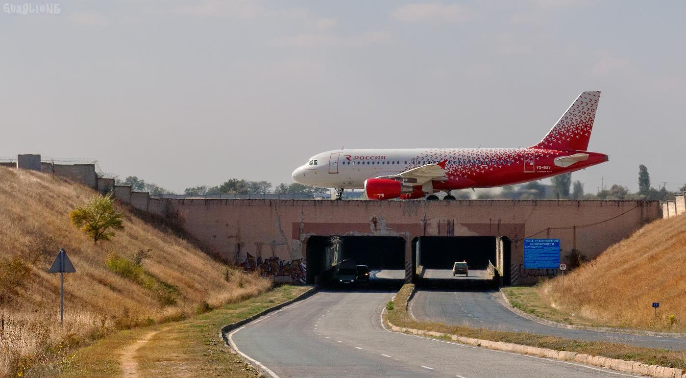 Тоннели возле аэропорта в Симферополе закроют для транспорта