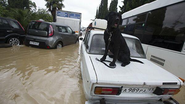 В Сочи готовятся к эвакуации жителей из-за ливней