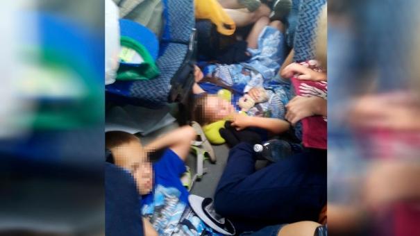 Очевидец сообщила о нечеловеческих условиях перевозки челябинских детей из Крыма