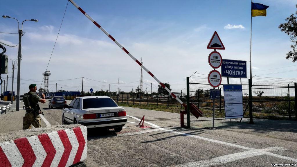На Украине решили пустить официальные автобусы до границы с Крымом