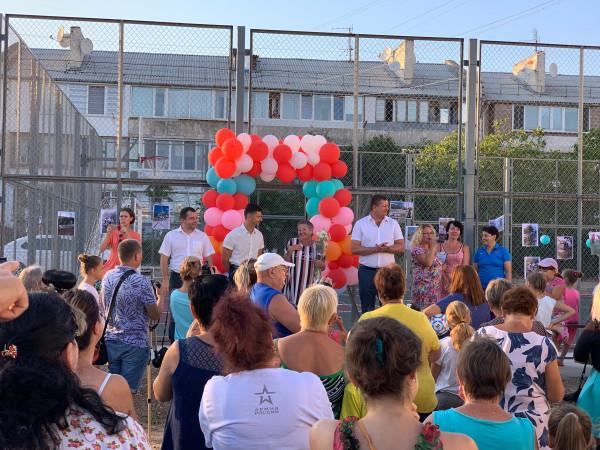 В Нахимовском районе Севастополя появились новые площадки для детей