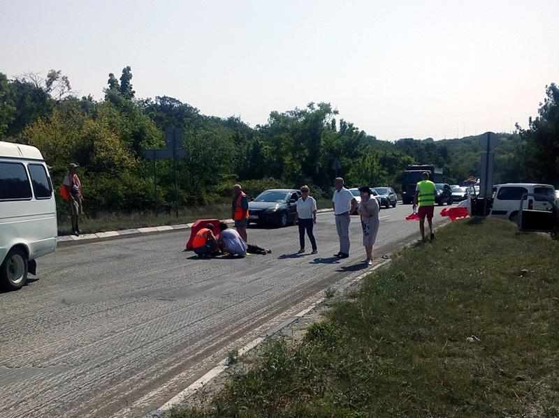 В Севастополе возбудили уголовное дело против водителя, насмерть сбившего дорожника