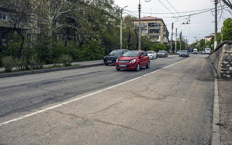 В Севастополе по ночам будут ремонтировать участок дороги по ул. Гоголя
