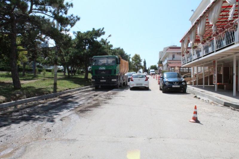Когда завершится ремонт дороги-дублера проспекта Генерала Острякова