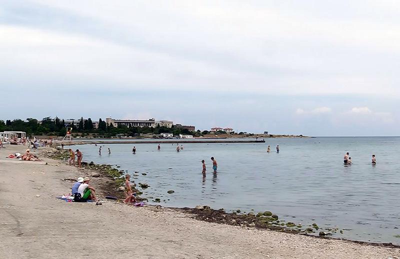 купание на пляжах