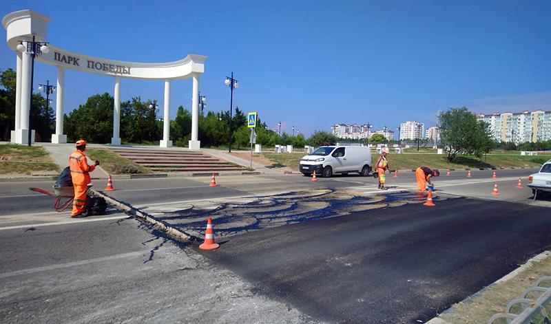 Пешеходный переход к Парку Победы сделают более безопасным