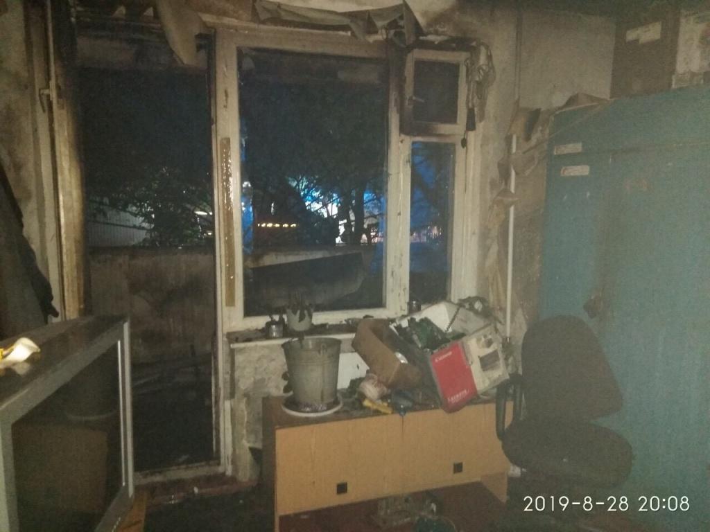 В Севастополе в девятиэтажке произошел пожар — жильцов эвакуировали
