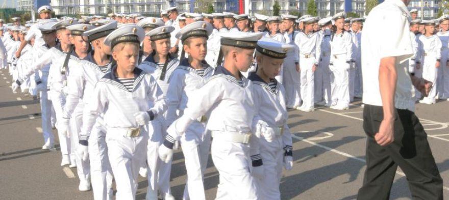 Севастопольское президентское кадетское училище открыло двери для 100 первокурсников
