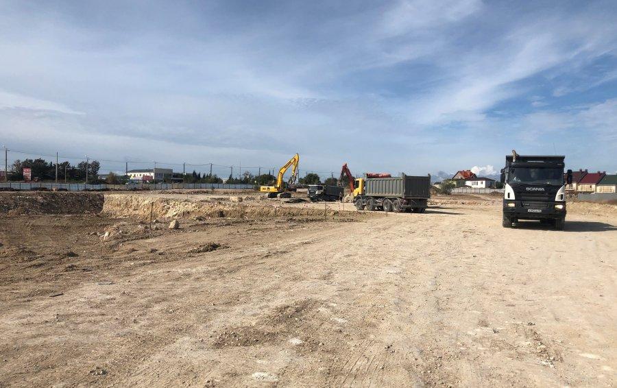 В Севастополе началось строительство нового корпуса школы в микрорайоне Шевченко