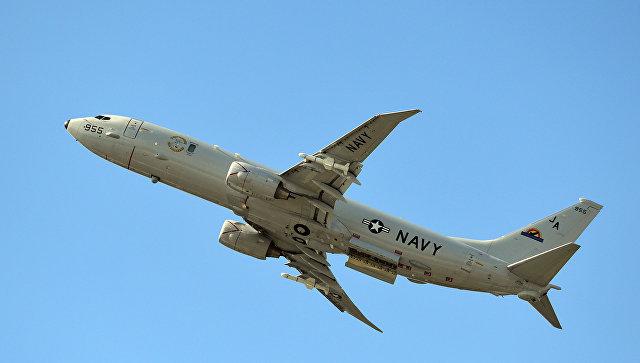 У берегов Крыма засекли противолодочный самолет США