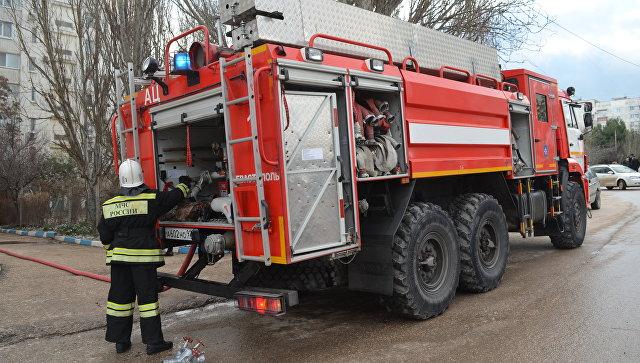 Из горящего в Севастополе дома эвакуировали 27 человек