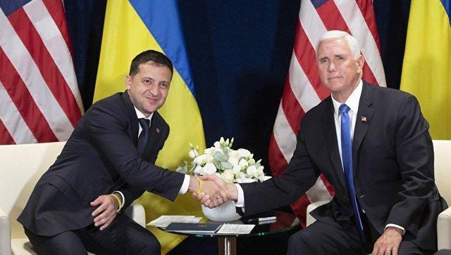 Вице-президент США пообещал Зеленскому Крым