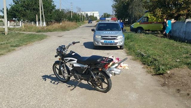 В Крыму подросток на мопеде насмерть сбил пожилого велосипедиста