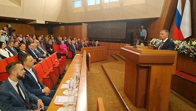 Владимир Константинов вновь возглавил крымский парламент