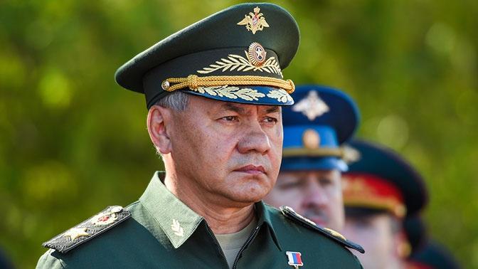 Шойгу назвал главную угрозу для России