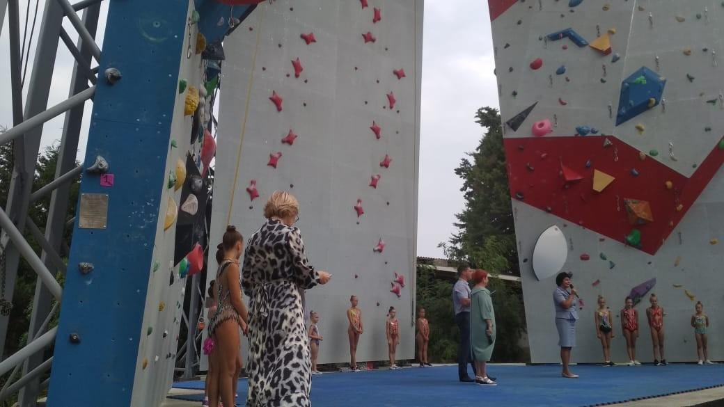 В Севастополе появился скалодром мирового уровня