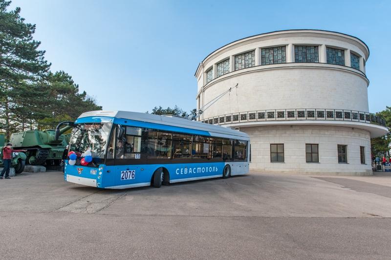Для Севастополя закупят новые троллейбусы