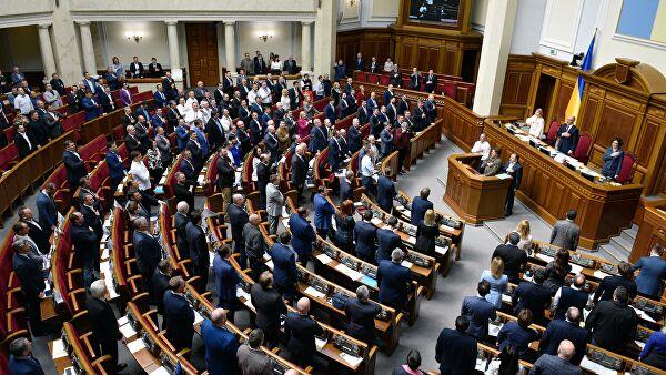 Рада приняла постановление о непризнании выборов в Крыму