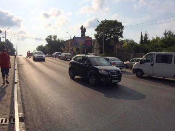 Дорогу на спуске Котовского переделают за 20 миллионов рублей