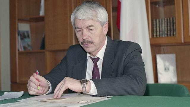 Названа причина смерти первого президента Крыма Юрия Мешкова