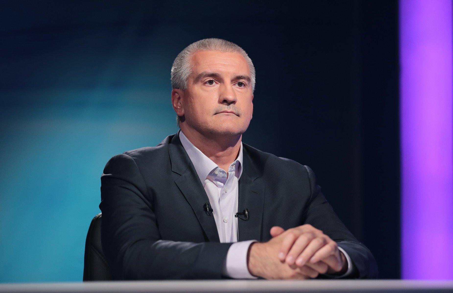 Аксенов во второй раз избран главой Республики Крым