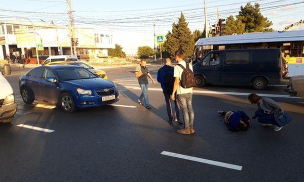 В Севастополе разыскивают очевидцев наезда на женщину-пешехода