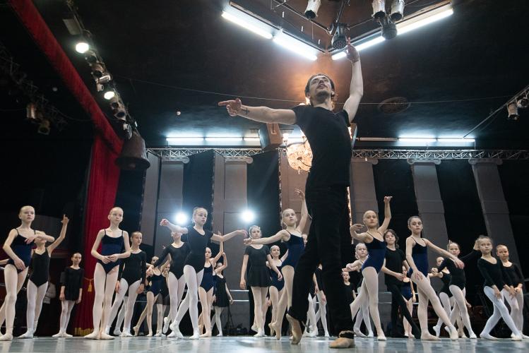 Сергей Полунин проведет дополнительный набор в Академию хореографии
