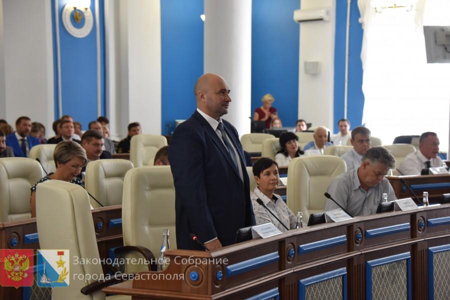 Что известно о новом председателе заксобрания Севастополя