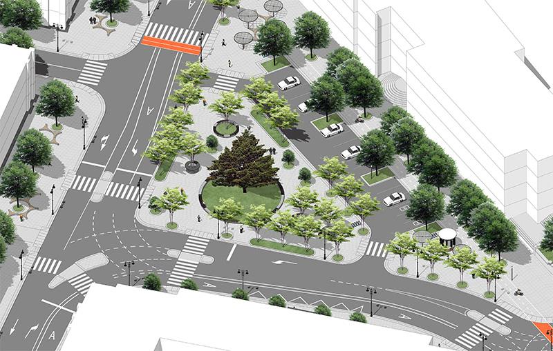 В Севастополе представили новую схему дорожного движения в центре города