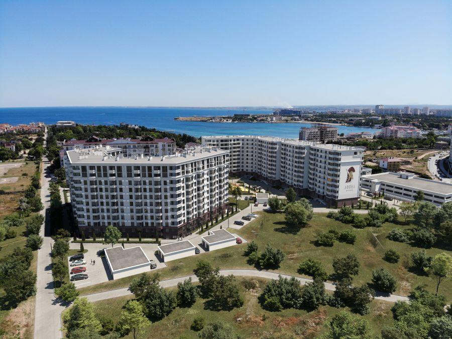 В бухте Омега вместо базы отдыха построят огромный жилой комплекс