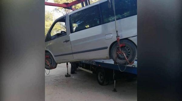 В Крыму пьяный водитель поехал за водкой и устроил ДТП