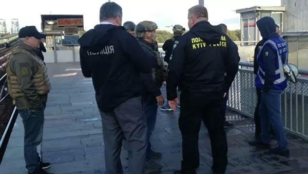 Опубликовано видео задержания крымчанина, угрожавшего подорвать мост в Киеве