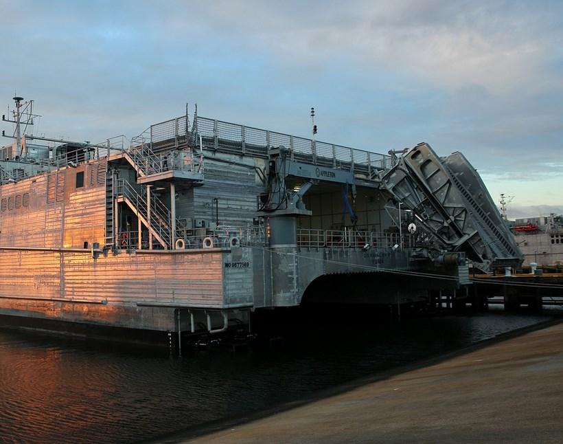 В Черное море зашел военный корабль ВМС США