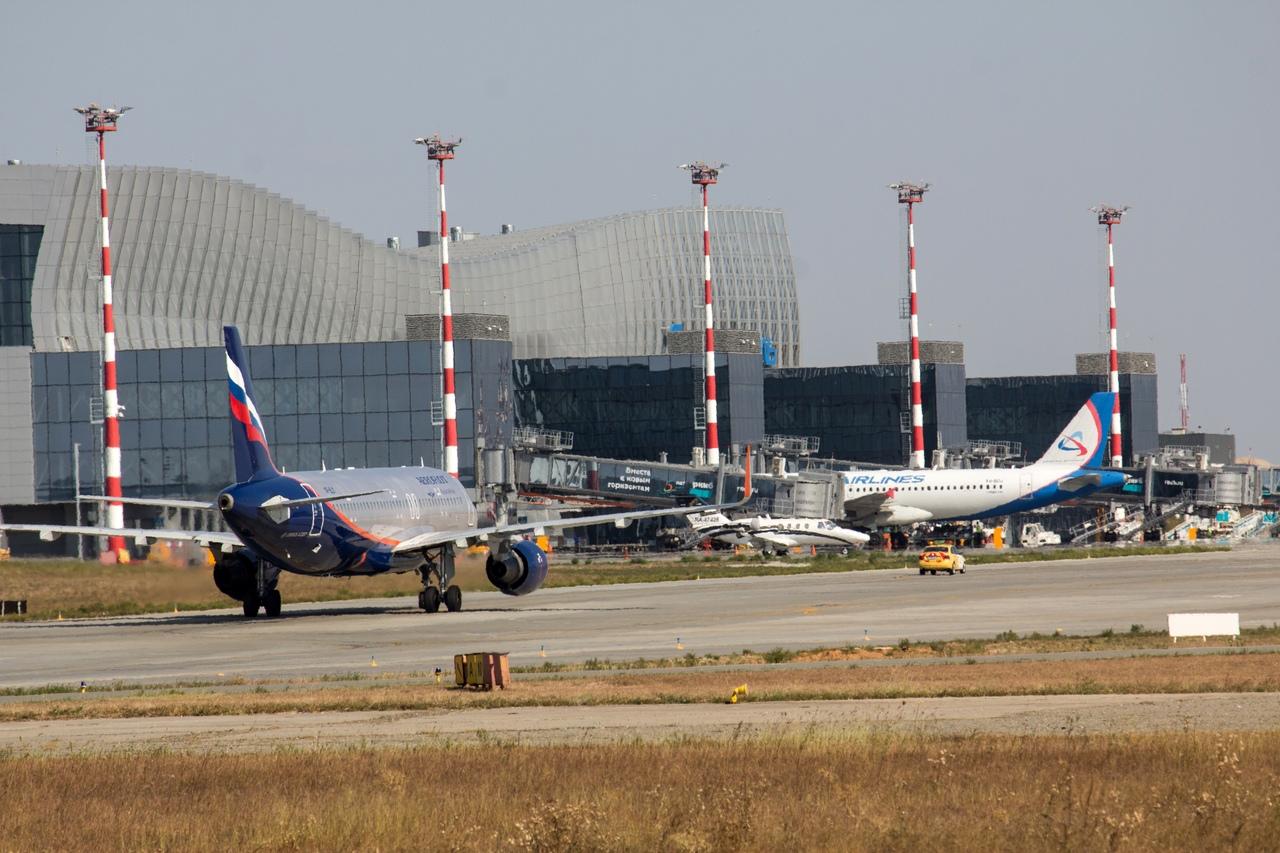 Аэропорт Симферополя переходит на новое расписание полетов
