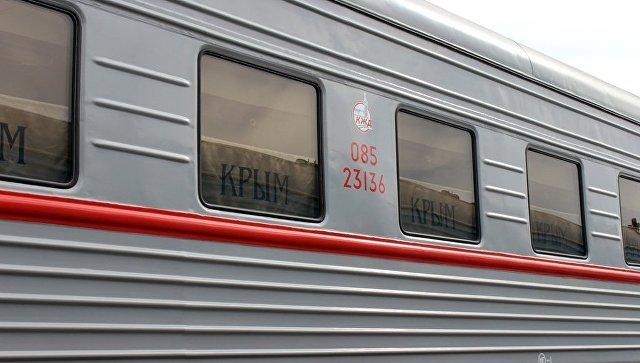В Крым поступили вагоны и тепловозы для запуска поездов по мосту