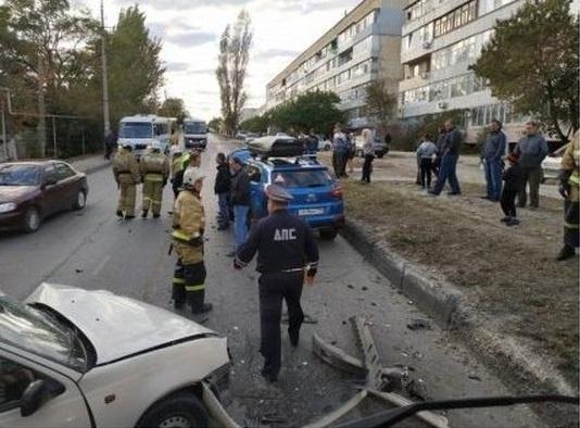 В ДТП в Крыму пострадал ребенок