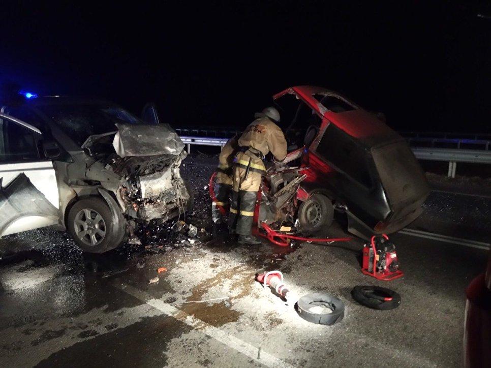 Погибший в жуткой аварии на «Тавриде» парень не имел водительского удостоверения